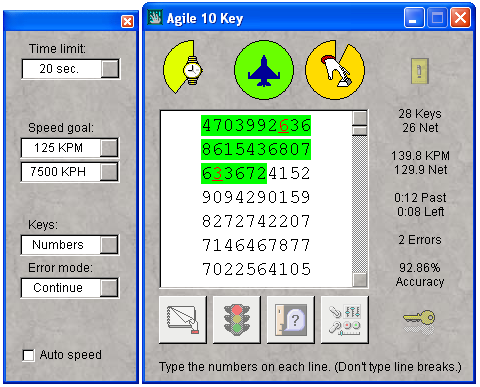 Click to view Agile 10 Key 2.0 screenshot